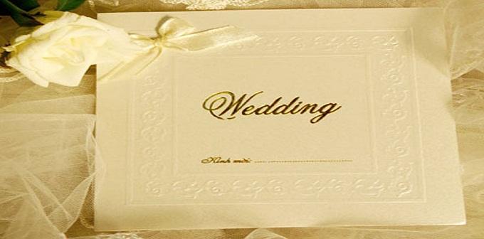 Dịch vụ cưới hỏi- Cách lựa chọn thiệp cưới tinh tế