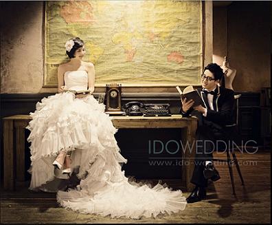 chụp ảnh cưới hàn quốc cổ điển