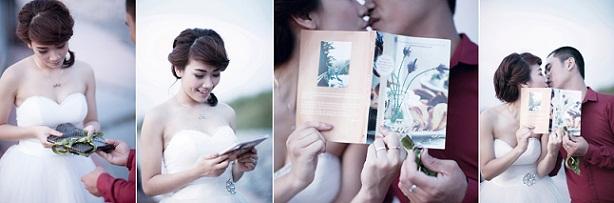 Chụp ảnh cưới đẹp tự nhiên