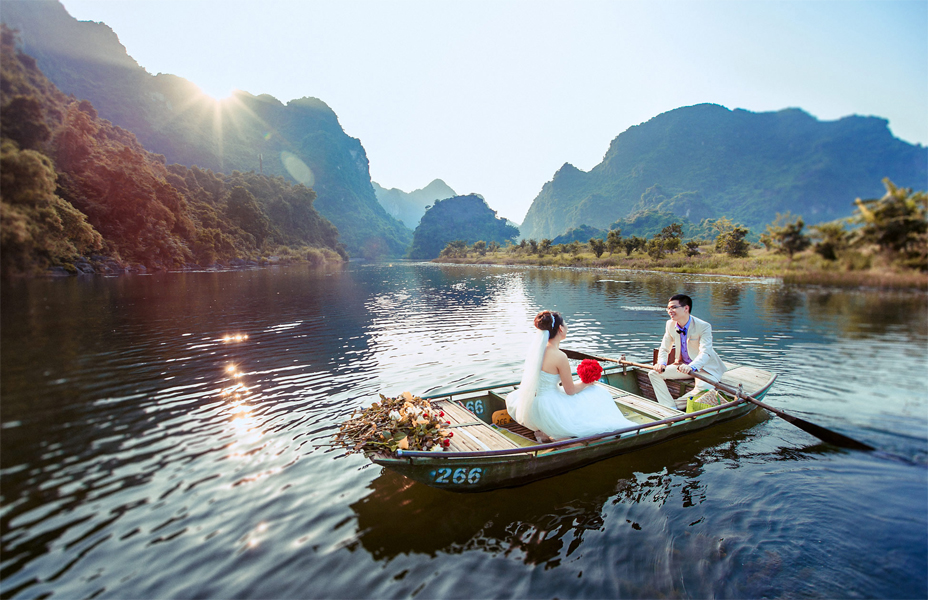 chụp ảnh cưới độc đáo tại Hà Nội