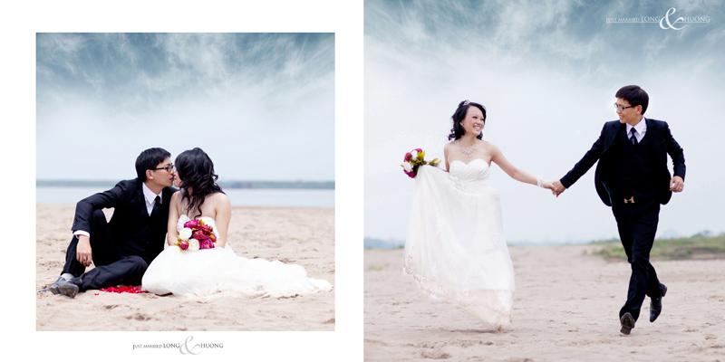 album ảnh cưới chụp đẹp ở bãi cát