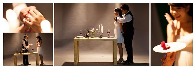 Chụp ảnh cưới về lời cầu hôn