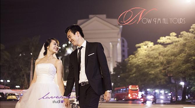Chụp album cưới-Chụp ảnh cưới theo phong cách ấn tượng