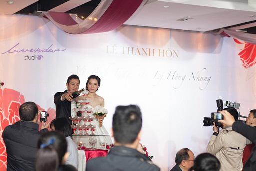 Ảnh cưới hỏi MC Anh Tuấn