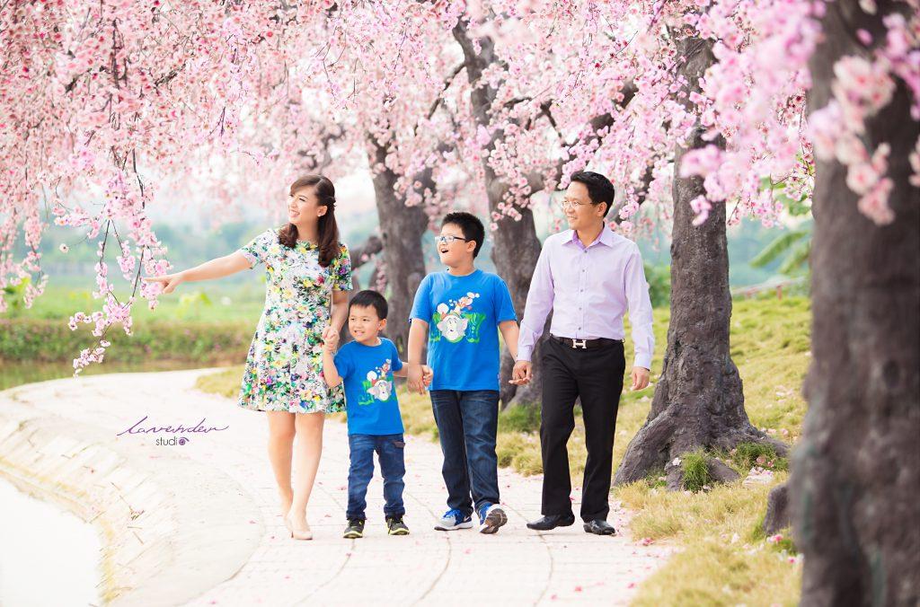 studio ảnh gia đình đẹp cầu giấy